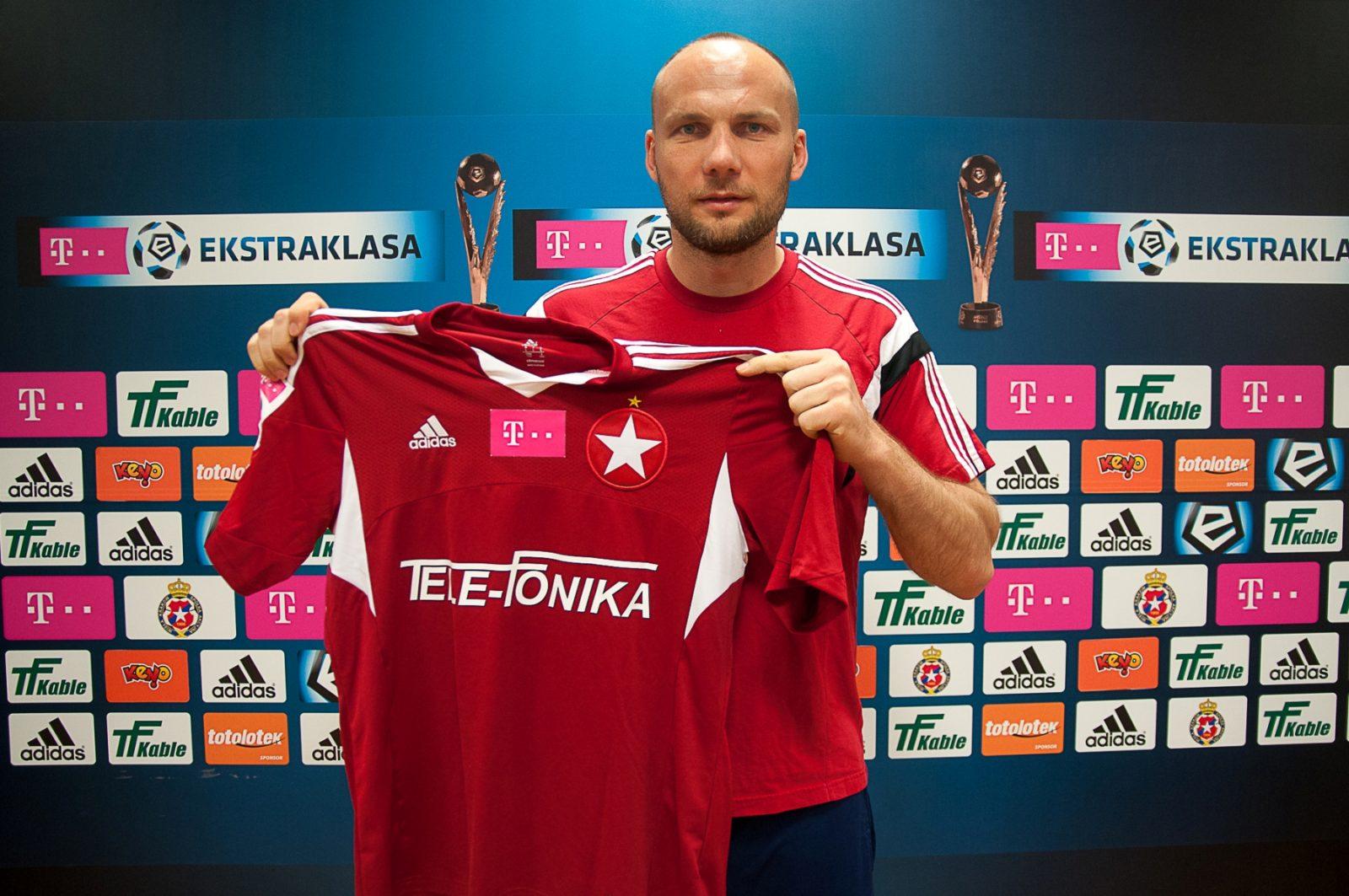 gwiazdka na koszulce Wisła Kraków