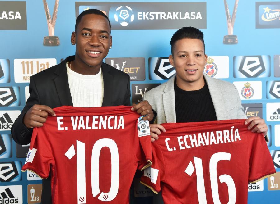 Ever Valencia i Cristian Echavarria